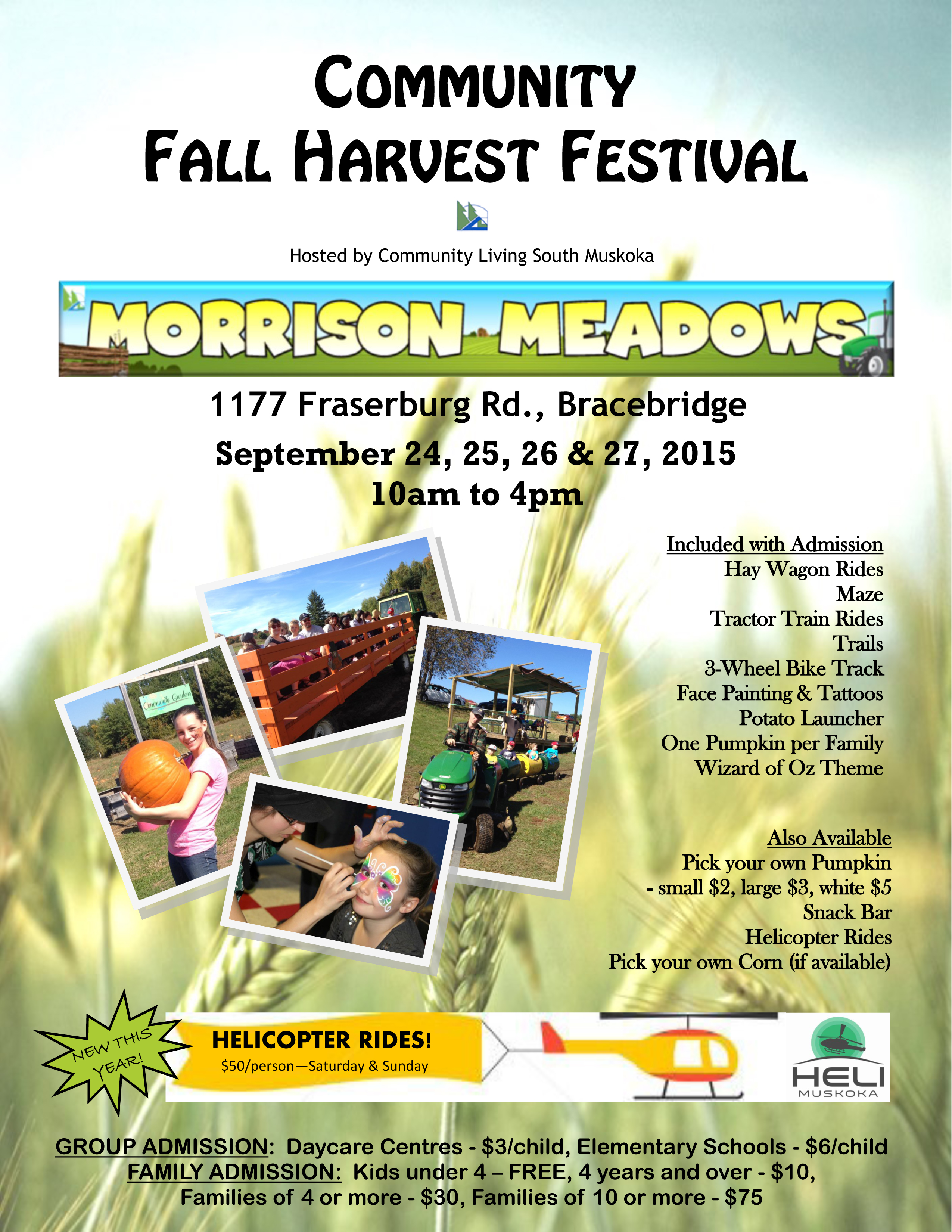 Fall Festival Flyer 2015 - Vertical