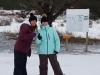 Clara enjoying Snowshoeing at Morrison Meadows 5