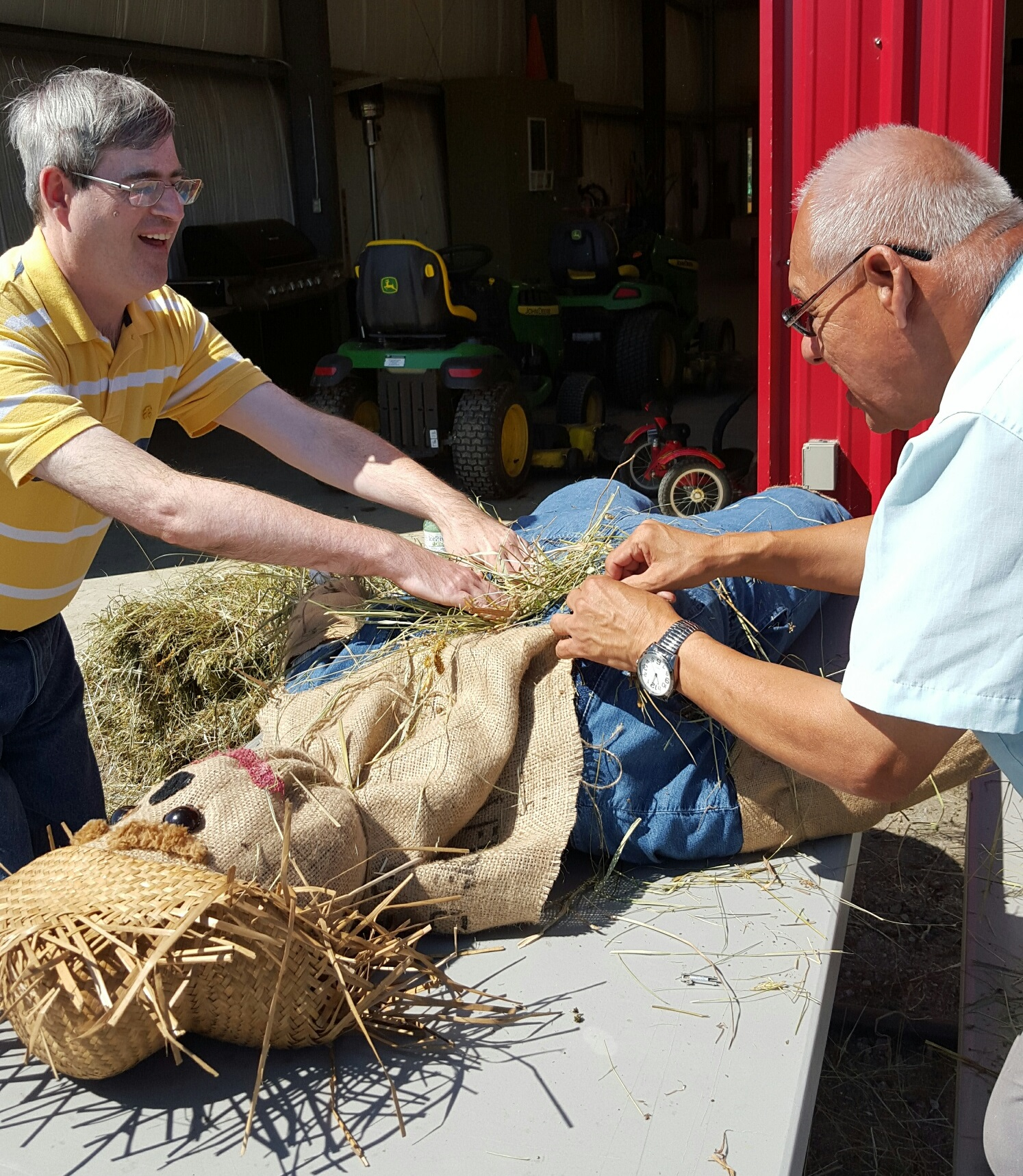 Stuffing the Scarecrow