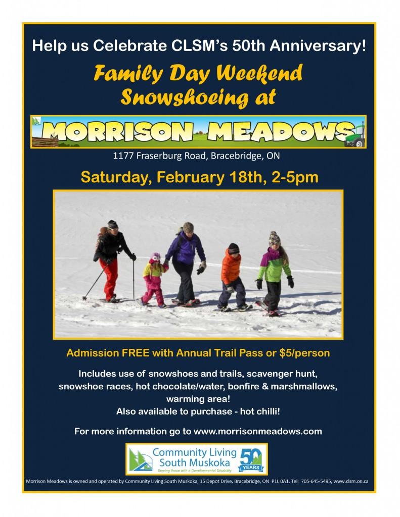 family-day-snowshoeing