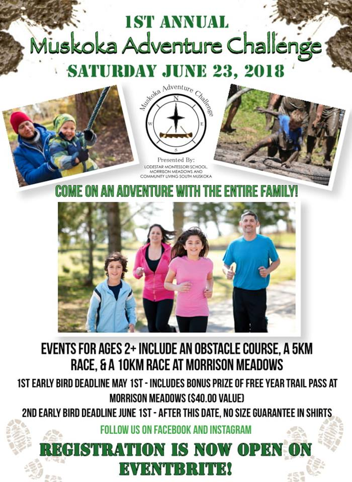 Muskoka Adventure Challenge @ Morrison Meadows | Bracebridge | Ontario | Canada