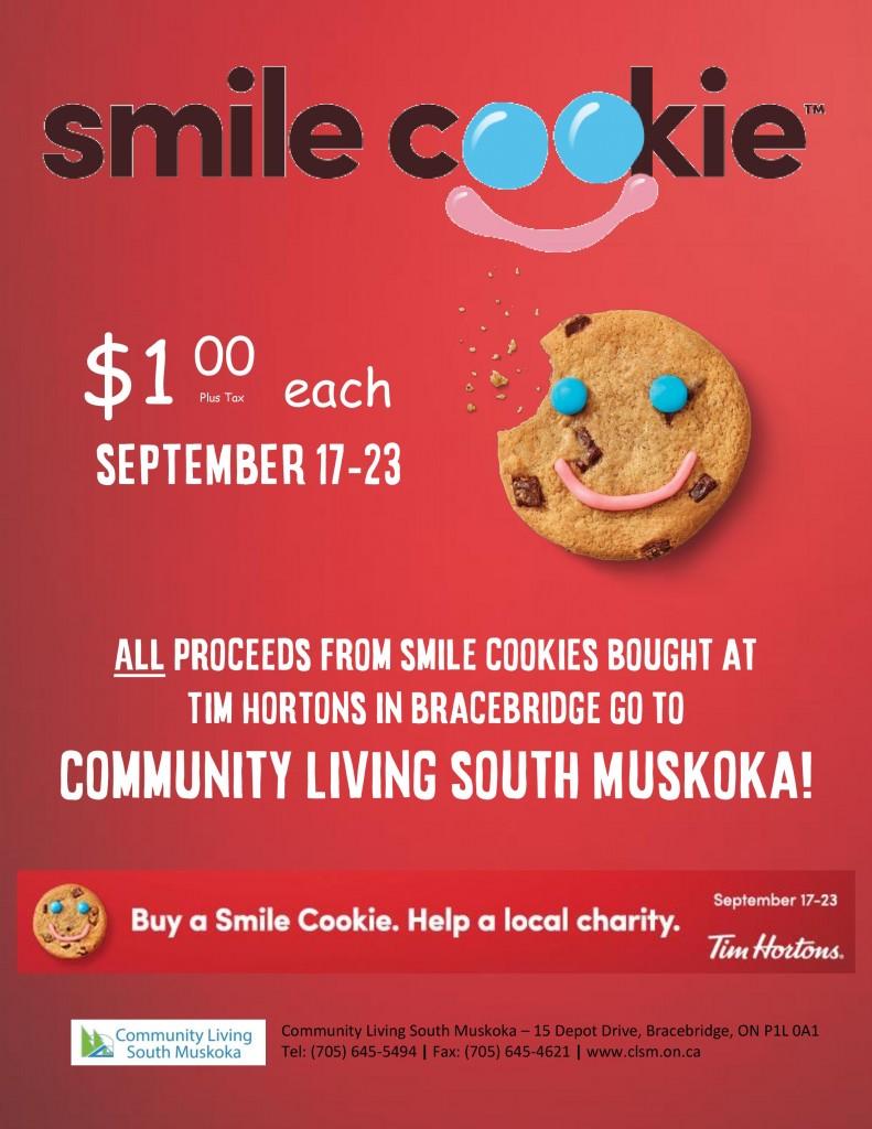 Tim Horton's Smile Cookie Campaign @ Tim Horton's Bracebridge | Bracebridge | Ontario | Canada